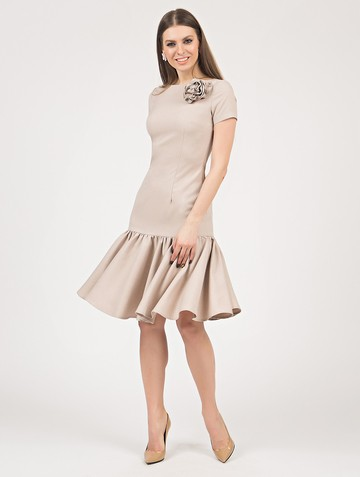 Платье vayolet, цвет бежевый
