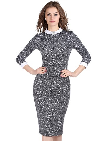 Платье lea, цвет серый
