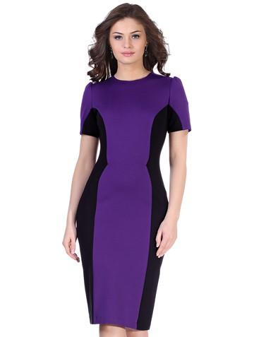 Платье milly, цвет фиолетово-черный