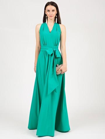 Платье helmy, цвет бирюзовый