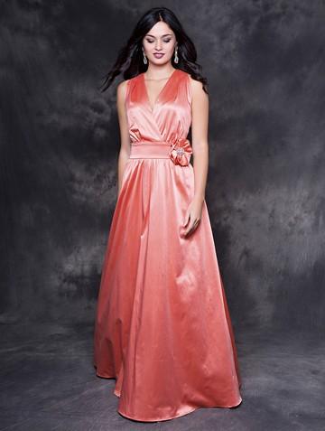 Платье liza, цвет лососевый