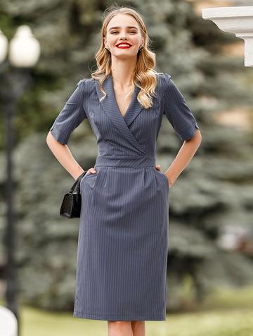 Платье domnika, цвет индиго