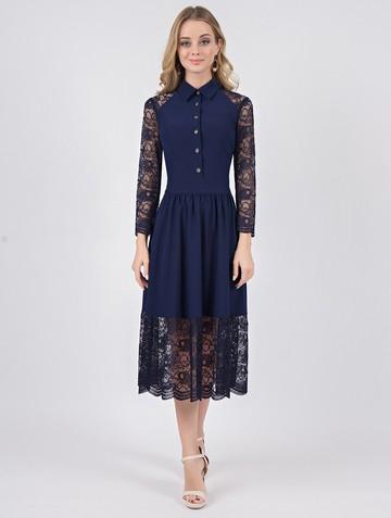 Платье kardelia, цвет темно-синий