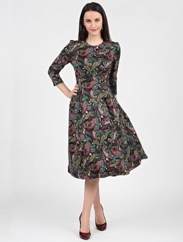 Платье elsy, цвет черно-розовый