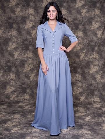 Платье vizaria, цвет голубой