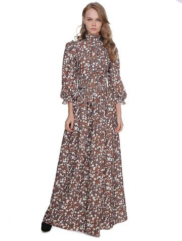 Платье amika, цвет терракотовый