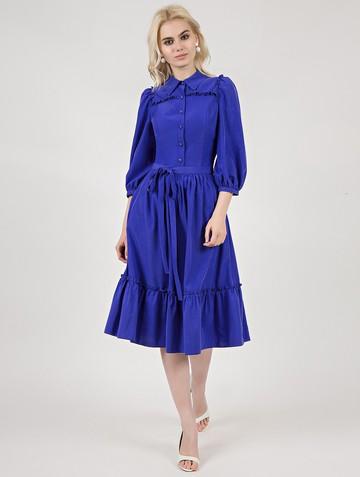 Платье gordia, цвет ультрамарин