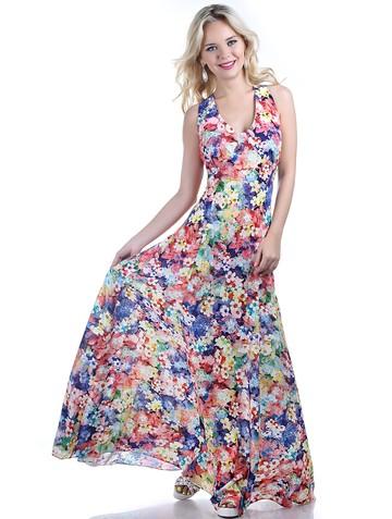 Платье narny, цвет пестрый