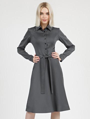 Платье pransy, цвет серый