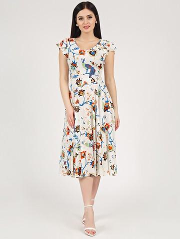 Платье ruslana, цвет молочный