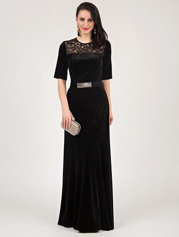 Платье tiara, цвет черный