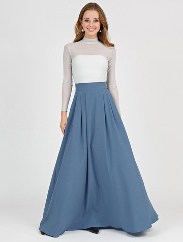 Юбка deuza, цвет серо-голубой