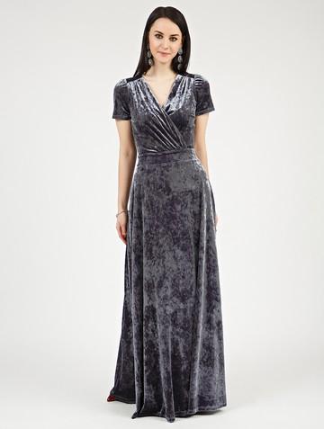 Платье leonida, цвет серый