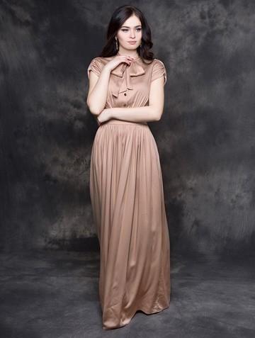 Платье listin, цвет пудровый