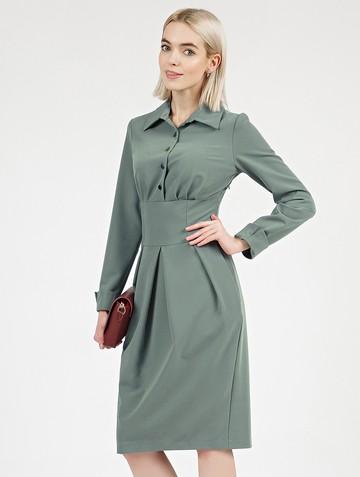 Платье nioby, цвет серо-зеленый