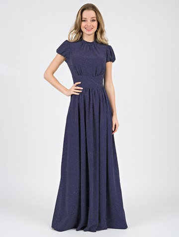 Платье djanatty, цвет темно-синий