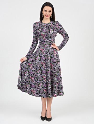 Платье agnetta, цвет черно-розовый