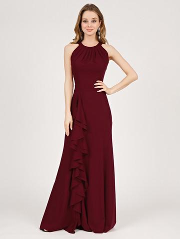 Платье aderly, цвет бордовый