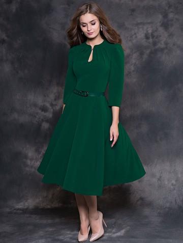 Платье joelle, цвет темно-зеленый
