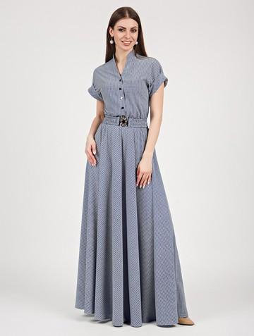 Платье lilias, цвет бело-синий