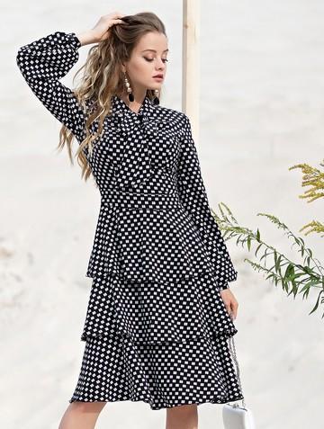 Платье linsy, цвет черный