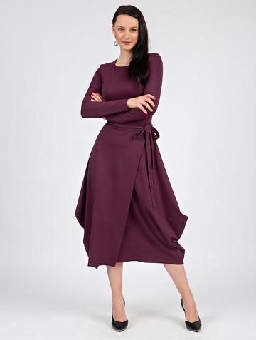 Платье marena, цвет сливовый
