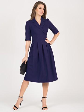 Платье darsia, цвет чернильный
