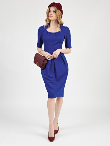 Платье kesly, цвет ультрамарин