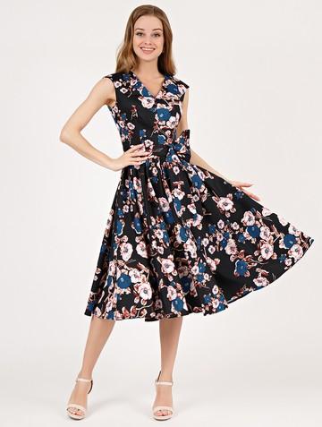 Платье ulana, цвет черный