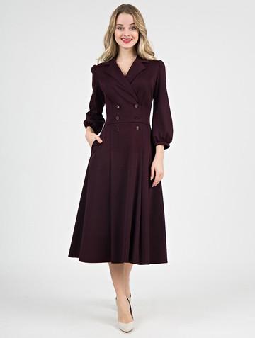 Платье uliana, цвет рубиновый