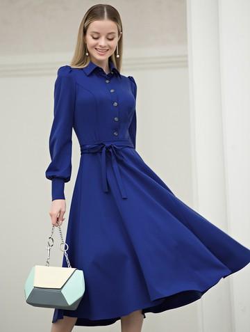 Платье dilia, цвет ультрамарин