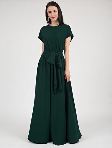 Платье kalma, цвет темно-зеленый