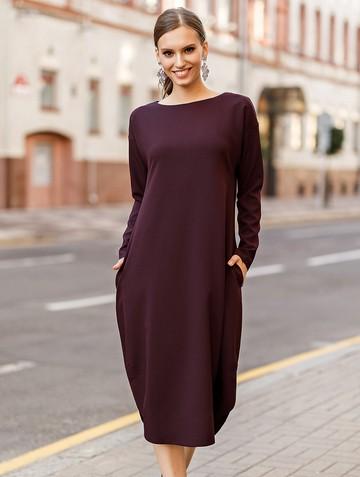 Платье harmony, цвет рубиновый