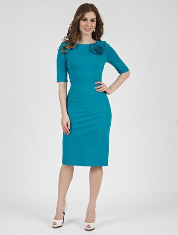 Платье anais, цвет бирюзовый