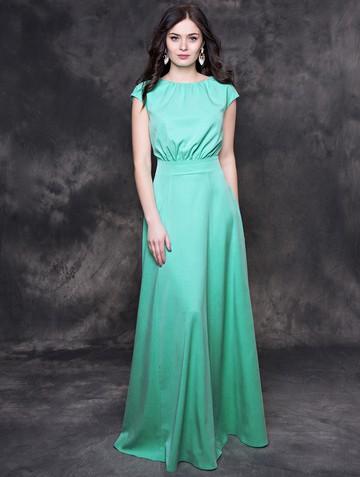 Платье kamila, цвет мятный