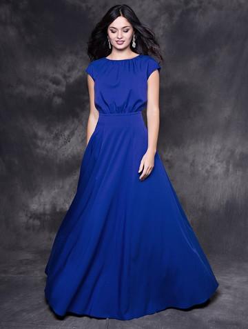 Платье kamila, цвет синий