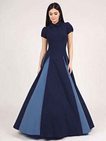 Платье bliss, цвет темно-синий