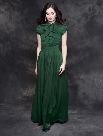 Платье listin, цвет изумрудный