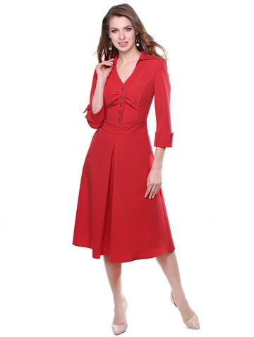 Платье olly, цвет красный