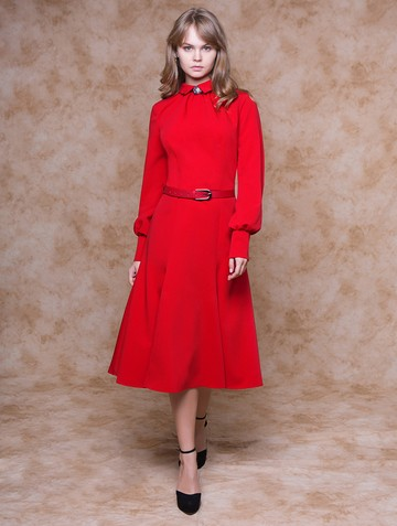 Платье arabella, цвет красный