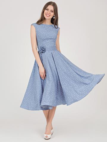 Платье midora, цвет индиго