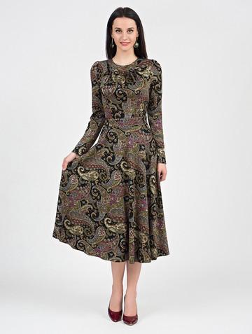 Платье agnetta, цвет черно-песочный