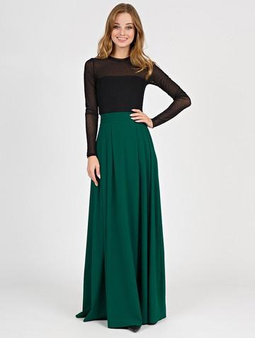 Юбка deuza, цвет темно-зеленый