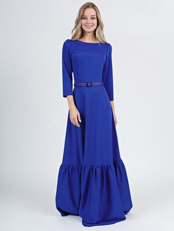 Платье moldy, цвет ультрамарин