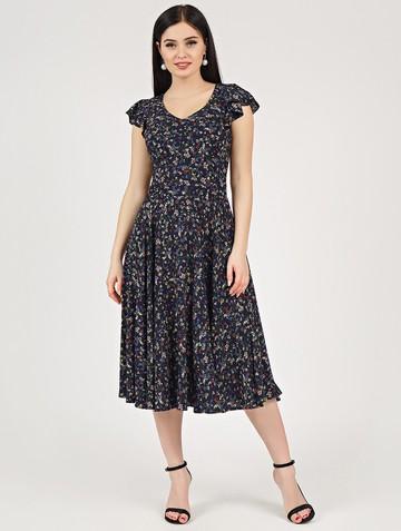 Платье ruslana, цвет темно-синий