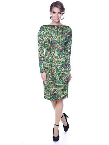 Платье diana, цвет салатовый