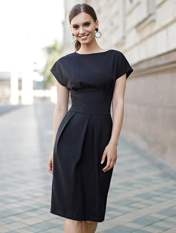 Платье rodika, цвет черный