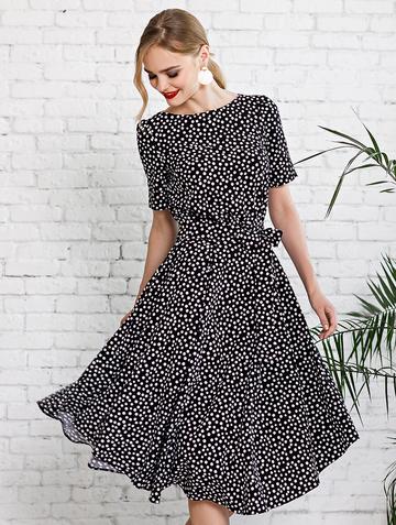 Платье allia, цвет черный