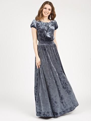 Платье veridy, цвет серый