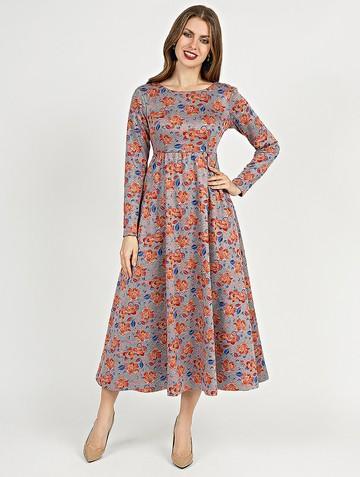Платье sapfira, цвет серо-розовый